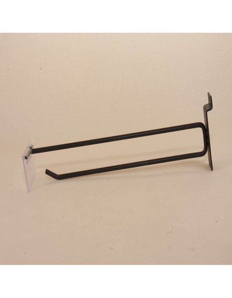 Simple hooks with holder price to display products in blisters