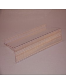 Footwear supports tray with porta-price for panel slats