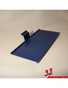 TABLETTE 300 X 125 MM + PORTE-ÉTIQUETTE 20MM EQUIPANT LES CHAUSSURES DE SPORT
