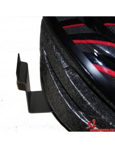 Soporte lama para cascos de bicicletas