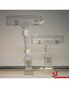 PORTA-PRICE WITH CALIPER FOR DIAMETER PIPE 10-30MM. TRANSPARENT