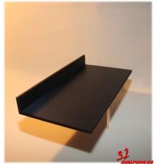 Esante zapatillero fijar a pared  ABS lacado negro