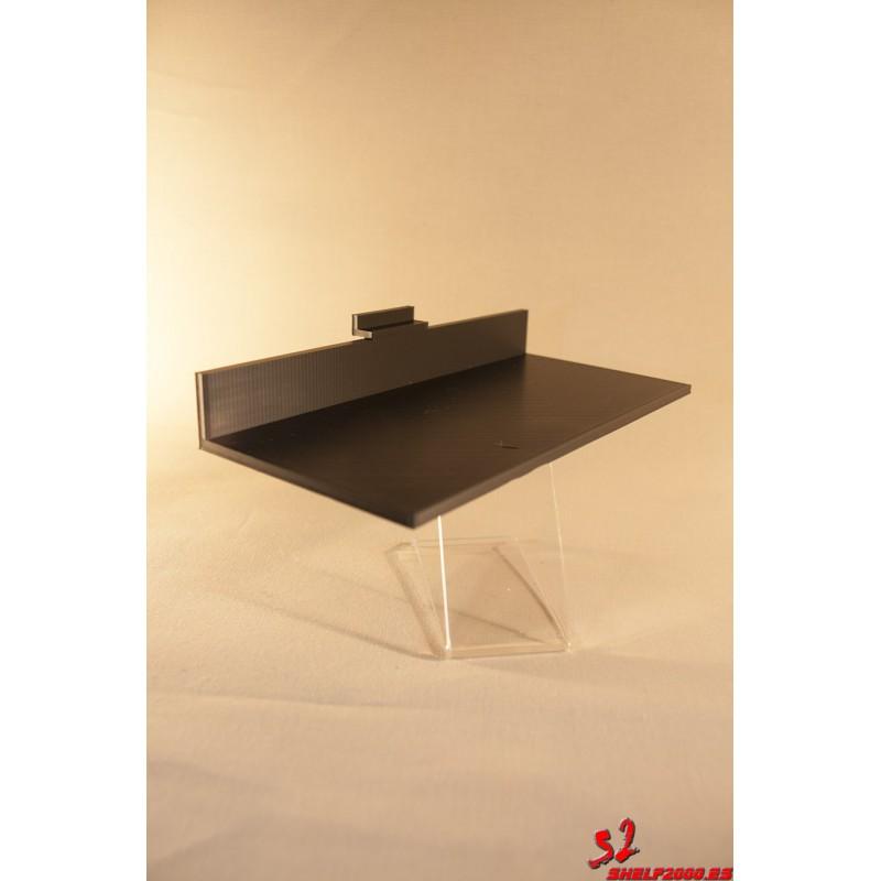 Zapatillero para panel de lama o sistemas verticales metalicos