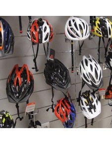 BICYCLE HELMET SUPPORT