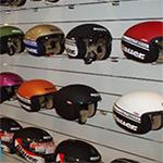 Muebles para tiendas de motos